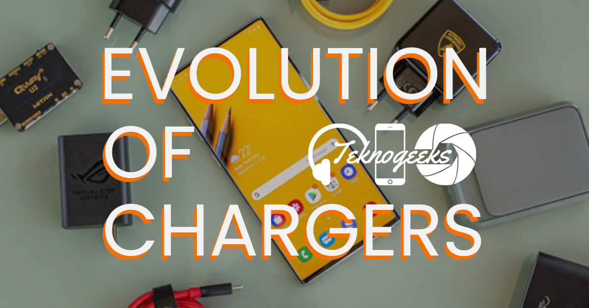 evolution of chargers